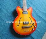 Полые гитара отверстия 5string Es 335 f двойника тела басовая