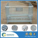 O armazenamento de aço do equipamento prende o recipiente do fio do engranzamento