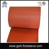 設計工学のガラス繊維によって編まれる絶縁の火毛布
