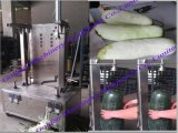 Potiron végétal de cantaloup de melon de pamplemousse de papaye traitant enlevant la machine de Peeler