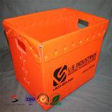 PP que dobram caixa plástica ondulada para beber e alimento