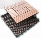 Mattonelle composite di plastica di legno di Decking DIY del rifornimento