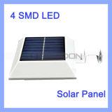 4 SMD LED Solar LED Lamp 3.7V Infrared PIR Motion Sensor Garten Lawn Light