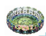 Het ronde Asbakje van het Glas van de Persoonlijkheid van de Kleur