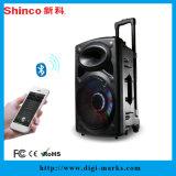 Spitzenverkaufs-bester Weihnachtsgeschenke Bluetooth Karaoke-Leder-Lautsprecher