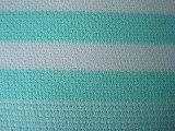 Tessuto spesso della Jersey della banda di stirata del ringrosso dell'ago tinto filato