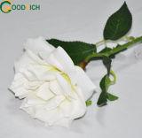 소프트 터치 단 하나 줄기 로즈 실크 꽃