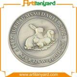 주문을 받아서 만들어진 금속 도전 기념품 동전
