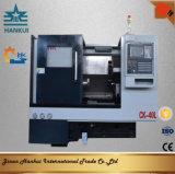 Lathe CNC кровати скоса высокой точности с перемещением оси 410mm x