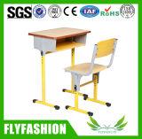 Únicas mesa do estudante da escola e cadeira de madeira médias (SF-01S)