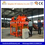 Bloc concret automatique à échelle réduite Qt4-25 faisant la machine de brique de saleté de machine