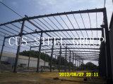 L'alloggiamento pre favoloso chiaro dell'acciaio della costruzione/ha prefabbricato il gruppo di lavoro della struttura d'acciaio