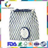 Мешок руки подарка OEM затавренный верхним сегментом с подгонянным логосом