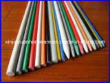 Bene durevole ad alta resistenza rotondo solido GRP Rod, FRP Rod, fascio di fibre ottiche