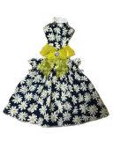 Form-Sommer-Hundekleid-kleidet hübscher Haustier-Hund Blumen-Muster