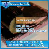 インクのための高い固体スチレンのアクリルの乳剤