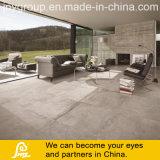 Telha rústica da porcelana do projeto do cimento para o assoalho e a parede Caria 600X600mm (Caria Ceniza)