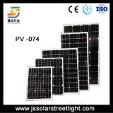 通りLEDの照明のための275Wモノラル太陽電池パネル