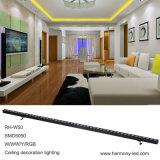 고성능 10W RGBW는 도시 색깔 LED 빛을 방수 처리한다