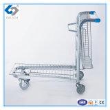 Caminhão da carga da plataforma com rodas