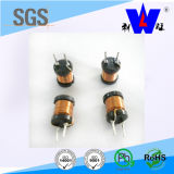Индуктор дроссельной катушки силы/Wirewound радиальный индуктор с RoHS
