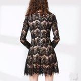 Qualitäts-Frauen-Verband Bodycon Form-Spitze-Kleid