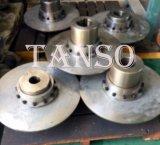 Acoplador de acero templado por encargo del engranaje del borde de la precisión