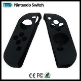 Piel colorida de la caja del silicón para el regulador de la Alegría-Estafa del interruptor de Nintendo