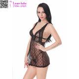 Impermeável cintura malha lingerie sexy roupa interior L28045-1