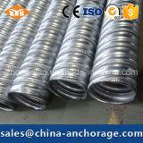 Conductos galvanizados metal tensores del poste caliente de las ventas