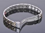 Multicolor del color del reloj pulsera de titanio de cierre con 4en1 Bio Elemento