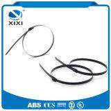 As cintas plásticas revestidas plásticas coloriram o cabo de fio inoxidável