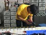 Caminhada de 18 zonas através do detetor de metais com o detetor de metais da segurança da sensibilidade de 255 níveis tela de 5.7 polegadas