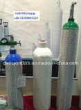 cilindros de aluminio 40L para los gases industriales