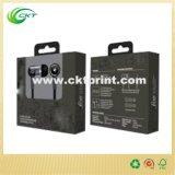 Caja de empaquetado del regalo de la electrónica de papel creativa con la impresión en color (CKT-CB-67)