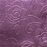 Tissu gravant en relief de rideaux en DEC de polyester d'Aphrodite