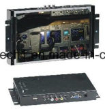"""10.2 """"Wide Screen LCD Metal Open Frame Touch para controle industrial"""