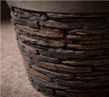 Camino di sembrare della pietra della coltura di quattro stagioni/pozzo rotondi esterni del fuoco