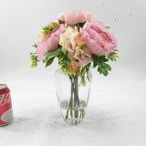 낭만주의 로즈 인공 꽃 훈장 Bonsai