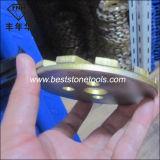 Плита диаманта меля для каменной конкретной полируя машины (песчинки 50 4 дюймов)