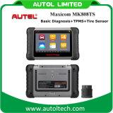 Le système de contrôle actif Mk808ts de pression de pneu de détecteur de TPMS a indiqué le système clair Autel Maxicom Mk808ts du scanner TPMS de véhicule de code de la panne