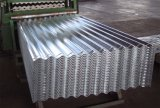 feuille en acier galvanisée de toiture ridée par ressources de toit en métal de 1200mm