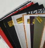 Cuero artificial del PVC mezclado común del uso y de los colores