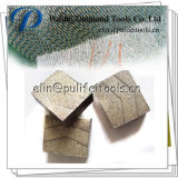 Schijf van het Beton van het Staal van het Kwarts van de Steen van het Segment van het Graniet van het Uiteinde van de diamant de Scherpe
