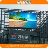 옥외 높은 정의 P6 풀 컬러 LED 스크린