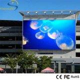 Tablilla de anuncios fija al aire libre a todo color de LED P5 del alto brillo