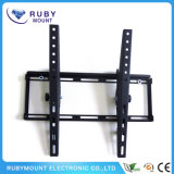 Black Tilted LCD / LED Flat Panel TV Wall Mount