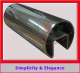 tubo scanalato decorativo dell'acciaio inossidabile 304 316 per vetro