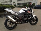 motocicletta di sport 250cc che corre bici con il motore raffreddato aria