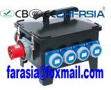Mobiler industrieller Kontaktbuchse-Kombinations-Energien-Kasten, elektrisches Gehäuse